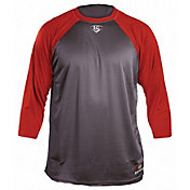 Louisville Slugger Men's Loose-Fit ¾ Sleeve Shirt