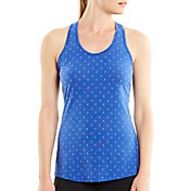 lucy Women's Printed Workout Racerback Tank Top