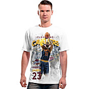 Levelwear Men's Cleveland Cavaliers LeBron James Center Court White T-Shirt