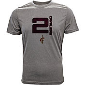Levelwear Men's Cleveland Cavaliers  Kyrie Irving Fadeaway Grey T-Shirt