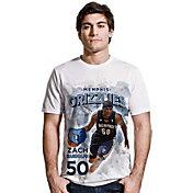 Levelwear Men's Memphis Grizzlies Zach Randolph Center Court White T-Shirt