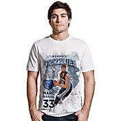 Levelwear Men's Memphis Grizzlies Marc Gasol Center Court White T-Shirt