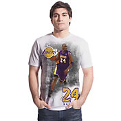 Levelwear Men's Los Angeles Lakers Kobe Bryant Highlight White T-Shirt