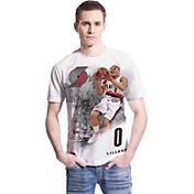 Levelwear Men's Portland Trail Blazers Damian Lillard Highlight White T-Shirt