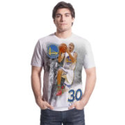 Levelwear Men's Golden State Warriors Steph Curry Highlight White T-Shirt