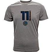 Levelwear Men's Golden State Warriors Klay Thompson Fadeaway Grey T-Shirt