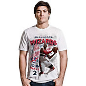 Levelwear Men's Washington Wizards John Wall Center Court White T-Shirt