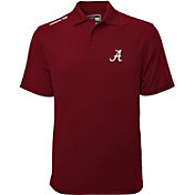 Levelwear Men's Alabama Crimson Tide Grey Helium Polo