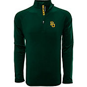 Levelwear Men's Baylor Bears Green Metro Quarter-Zip Pullover