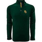 Levelwear Men's Baylor Bears Green Metro Quarter-Zip Pullover
