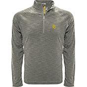 Levelwear Men's Baylor Bears Grey Mobility Long Sleeve Quarter-Zip Shirt