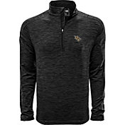 Levelwear Men's UCF Knights Grey Armour Quarter-Zip Shirt