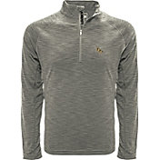 Levelwear Men's UCF Knights Grey Mobility Long Sleeve Quarter-Zip Shirt