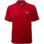 Levelwear Men's Georgia Bulldogs Red Helium Polo