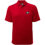 Levelwear Men's Georgia Bulldogs Red Helium Polo
