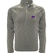 Levelwear Men's Kentucky Wildcats Grey Mobility Long Sleeve Quarter-Zip Shirt