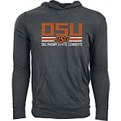 Levelwear Men's Oklahoma State Cowboys Grey Long Sleeve Hooded T-Shirt