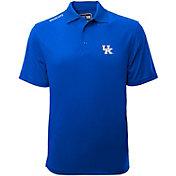 Levelwear Men's Kentucky Wildcats Blue Helium Polo