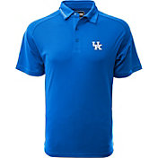 Levelwear Men's Kentucky Wildcats Blue Tactical Polo