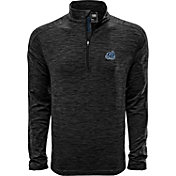 Levelwear Men's Old Dominion Monarchs Grey Armour Quarter-Zip Shirt