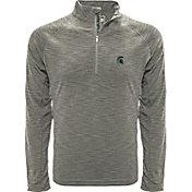 Levelwear Men's Maryland Terrapins Grey Mobility Long Sleeve Quarter-Zip Shirt