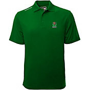 Levelwear Men's Marshall Thundering Herd Green Helium Polo