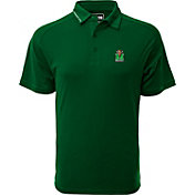 Levelwear Men's Marshall Thundering Herd Green Tactical Polo