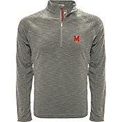 Levelwear Men's Mississippi State Bulldogs Grey Mobility Long Sleeve Quarter-Zip Shirt