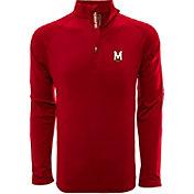 Levelwear Men's Maryland Terrapins Red Metro Quarter-Zip Pullover