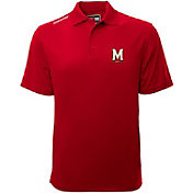 Levelwear Men's Maryland Terrapins Red Helium Polo