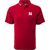 Levelwear Men's Nebraska Cornhuskers Red Tactical Polo