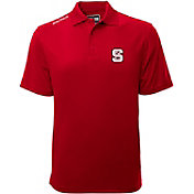Levelwear Men's North Carolina State Wolfpack Red Helium Polo