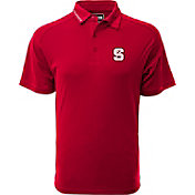 Levelwear Men's North Carolina State Wolfpack Red Tactical Polo