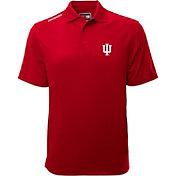 Levelwear Men's Indiana Hoosiers Red Helium Polo