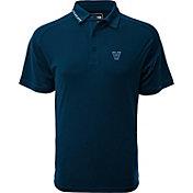 Levelwear Men's Villanova Wildcats Blue Tactical Polo