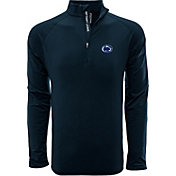 Levelwear Men's Oregon Ducks Green Metro Quarter-Zip Pullover
