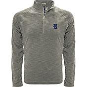 Levelwear Men's Penn State Nittany Lions Grey Mobility Long Sleeve Quarter-Zip Shirt