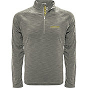 Levelwear Men's Old Dominion Monarchs Grey Mobility Long Sleeve Quarter-Zip Shirt