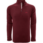 Levelwear Men's Alabama Crimson Tide Crimson Metro Quarter-Zip Pullover