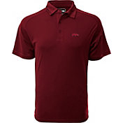 Levelwear Men's Arkansas Razorbacks Cardinal Tactical Polo