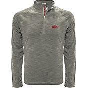 Levelwear Men's Arizona State Sun Devils Grey Mobility Long Sleeve Quarter-Zip Shirt