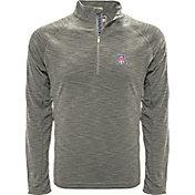Levelwear Men's Arizona Wildcats Grey Mobility Long Sleeve Quarter-Zip Shirt
