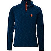 Levelwear Men's Syracuse Orange Blue Mobility Quarter-Zip