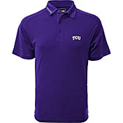 Levelwear Men's TCU Horned Frogs Purple Tactical Polo