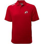 Levelwear Men's Utah Utes Crimson Helium Polo