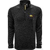 Levelwear Men's Iowa State Cyclones Grey Armour Quarter-Zip Shirt
