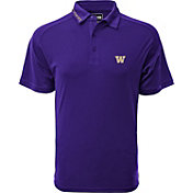 Levelwear Men's Washington Huskies Purple Tactical Polo