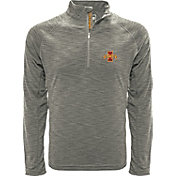 Levelwear Men's Iowa State Cyclones Grey Mobility Long Sleeve Quarter-Zip Shirt