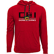 Levelwear Men's Chicago Blackhawks Scoreboard Red Hooded T-Shirt