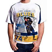 Levelwear Men's St. Louis Blues T.J. Oshie #74 Center Ice White T-Shirt